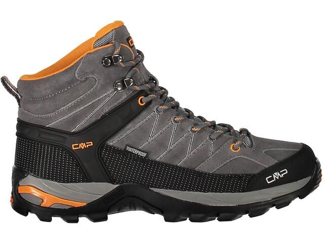 CMP Campagnolo Rigel WP Chaussures de trekking mi-hautes Homme, grey-aperol